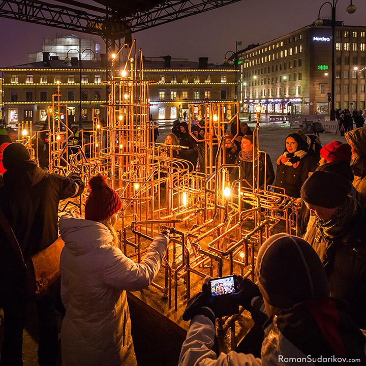 Lux Helsinki kannustaa taas ilahduttamaan valolla